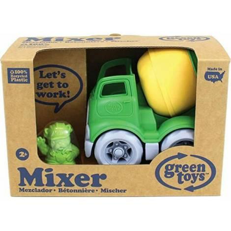 Green Toys: Mixer Construction Truck - Green/Yellow (CMXG-1263)