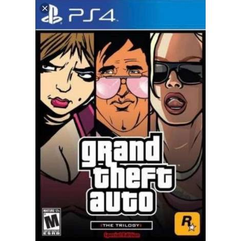 Grand Theft Auto The Trilogy The Definitive Edition (PS4)