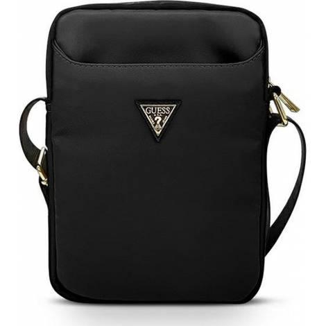 Guess Nylon Triangle Logo Τσάντα Μαύρο (Universal 10