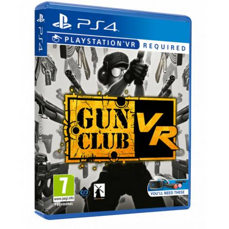Gun Club VR (Ps4) (Vr Required)