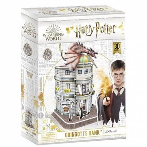 Harry Potter - Diagon Alley Gringotts Bank 3D Puzzle 74pieces (DS1005H)