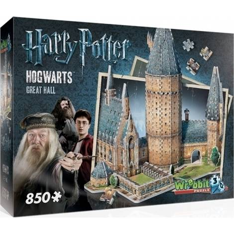 Harry Potter: Hogwarts - Great Hall 850pcs (W3D-2014) Wrebbit 3D Puzzle