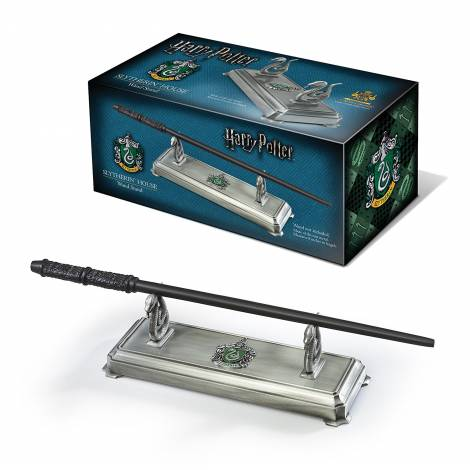 Harry Potter Slytherin Wand Stand Noble Collection (NN9524)