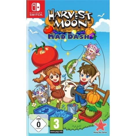 Harvest Moon Mad Dash (Code in a Box)  (Nintendo Switch)