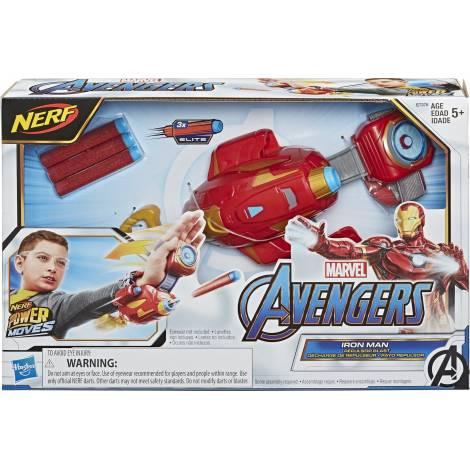 Hasbro Avengers Nerf Power Moves Marvel Iron Man Repulsor Blast Gauntle (E7376EU)