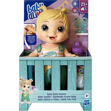Hasbro Baby Alive: Baby Gotta Bounce Doll Blonde Hair (E9427)