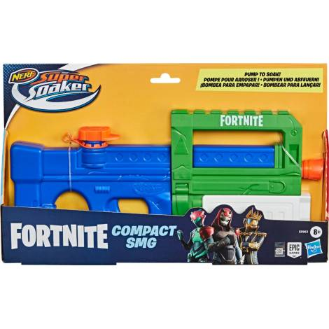 Hasbro Nerf Fortnite: Super Soaker - Compact Smg (E99635L0) (Νεροπίστολο)