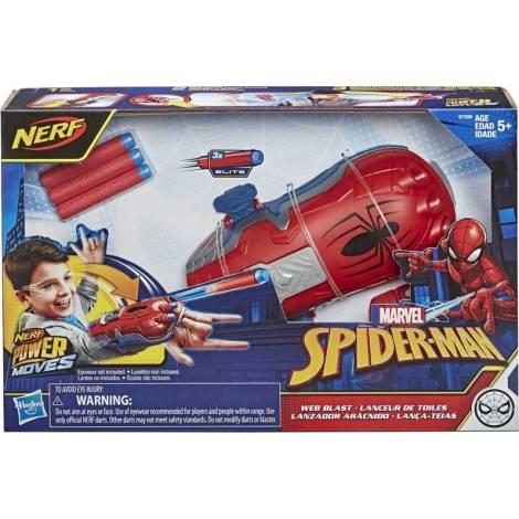 Hasbro Nerf Power Moves: Marvel Spider-Man - Web Blast (E7328EU4)
