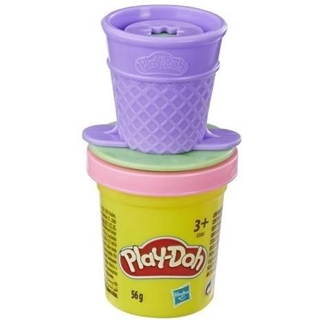 Hasbro Play-Doh: Mini Can Topper - Ice Cream Cone (E3410)