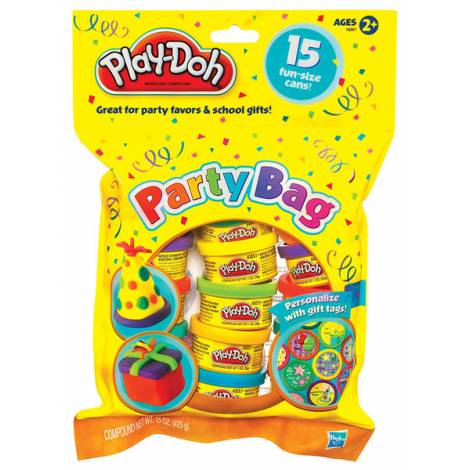 HASBRO PLAY-DOH PARTY BAG (15cans) (18367)