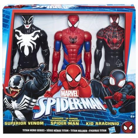 Hasbro Spider-Man: Titan Hero Series Collection 3 Pack (C1916)