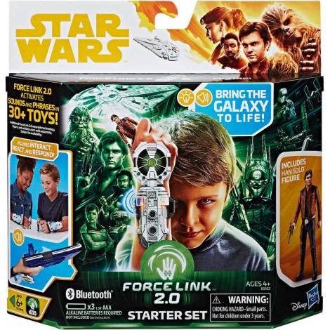 Hasbro Star Wars Han Solo Force Link 2.0 Bluetooth Starter Set (E0322)