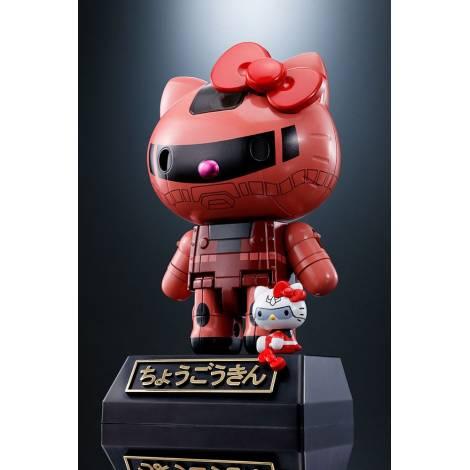 Hello Kitty - Chogokin Diecast Action Figure Hello Kitty Char's Zaku II Ver. - 11 cm