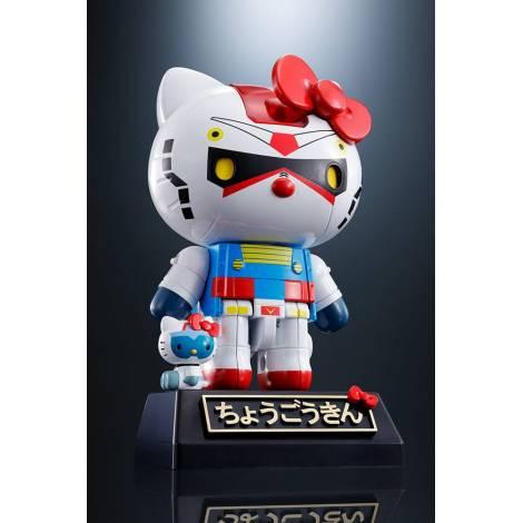 Hello Kitty - Chogokin Diecast Action Figure Hello Kitty Gundam Color Ver. - 11 cm