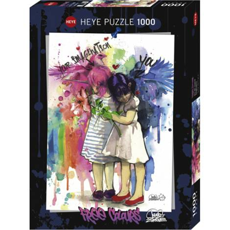 HEYE Puzzle 29826 Free Colours - Φαντασία  (1000 pcs)