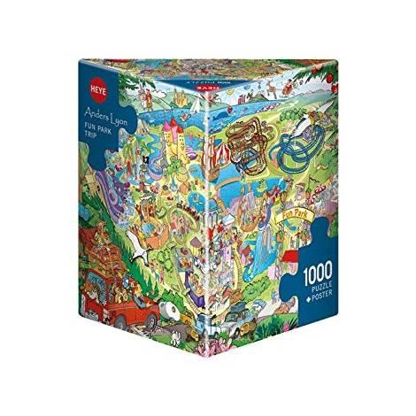 HEYE 29837 Lyon Βόλτα στο πάρκο Puzzle (1000 pcs)