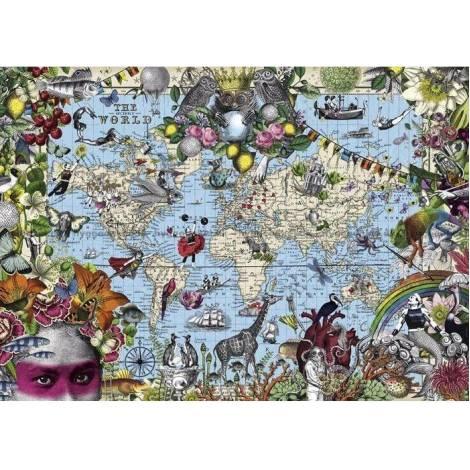 Heye Map Art - Quirky World (29913) 2000pcs