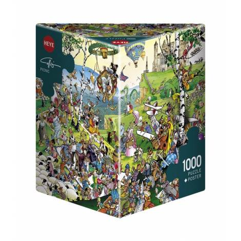 HEYE Puzzle 29836 Calligaro - Πικ Nικ (1000 pcs)