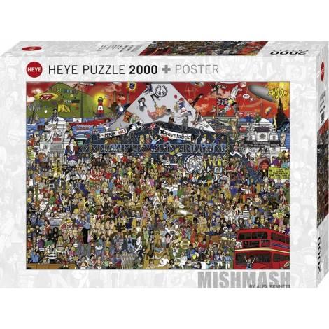 Heye Puzzle - Music - Βρετανία 2000pcs (29848)