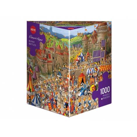 Heye Ruyer - Bunny Battles (29920) 1000pcs