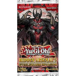 YuGiOh ! Hidden Arsenal 5 Steel Swarm Invasion Booster Pack