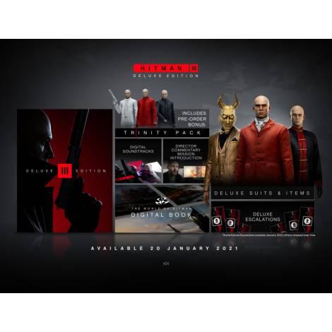 Hitman 3 - III : Deluxe Edition (PS4)