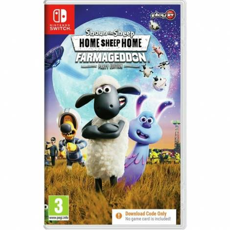HOME SHEEP HOME  - Farmageddon Party Edition - (CODE IN A BOX) (Nintendo Switch)