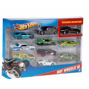 HOT WHEELS - CARS SET OF 10 (54886)