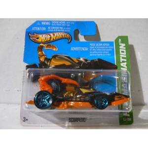 HOT WHEELS - CITY MUTANT MACHINES - SCORPEDO (BBY88)