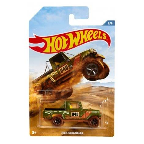 Hot Wheels Off Road Trucks Series- Jeep Scrambler Vehicle (FYY71)