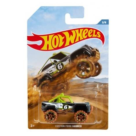 Mattel Hot Wheels Off Road Trucks Series - Custom Ford Bronco Vehicle (FYY70)