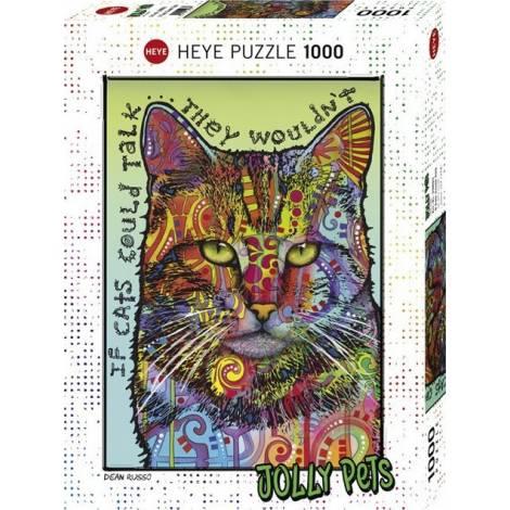 If Cats Could Talk 1000pcs (29893) Heye