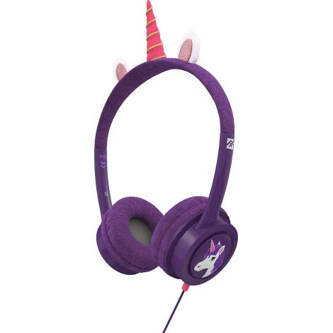 ifrogz - Little Rockerz Costume with Coiled Cable & Buddy Jack  UNICORN (304101847)