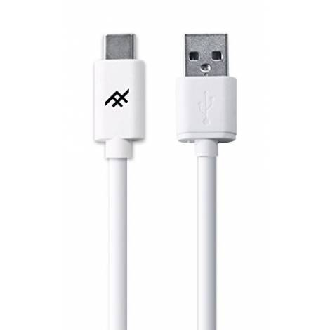 iFrogz Regular USB 2.0 Cable USB-C male - USB-A male Λευκό 1.8m (IFUSAR-WH3)