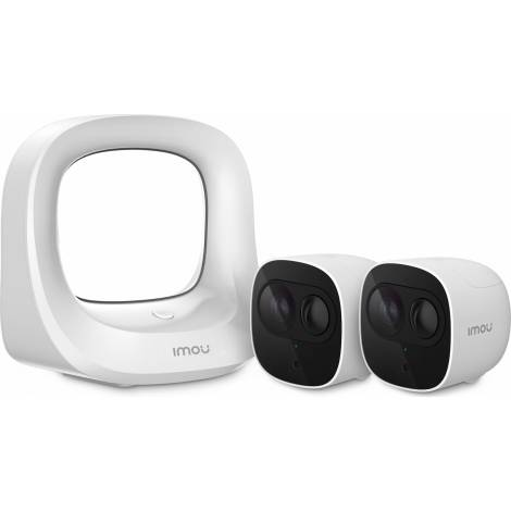Imou Ip Camera Cell Pro (1 HUB 2 CAM) KIT-WA1001-300/2-B26E