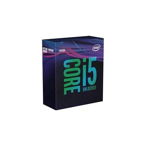 INTEL CPU CORE i5 9600K, 6C/6T, 3.70GHz, CACHE 9MB, SOCKET LGA1151 9th GEN, GPU, BOX, 3YW.