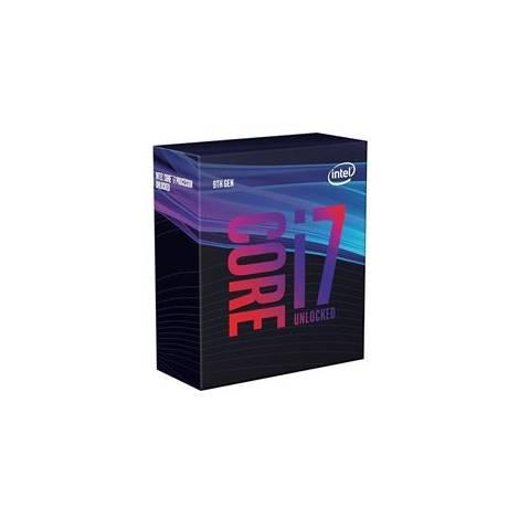 INTEL CPU CORE i7 9700, 8C/8T, 3.00GHz, CACHE 12MB, SOCKET LGA1151 9th GEN, GPU, BOX, 3YW.