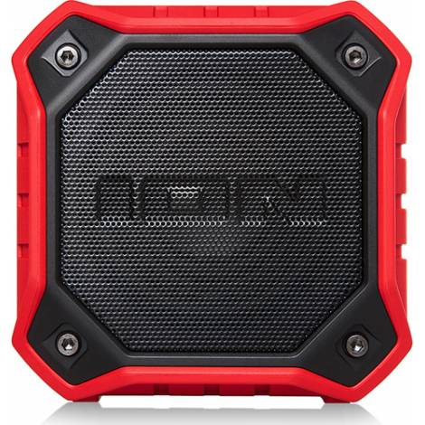 ION Dunk Red Waterproof Bluetooth Speaker