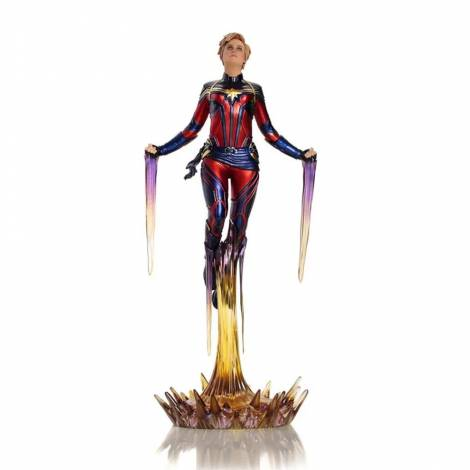 Iron Studios Avengers: Endgame - Captain Marvel BDS Art Scale 1/10 Statue