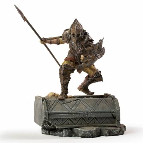 Iron Studios Lord of the Rings - Orc Armored BDS Art Scale 1/10 Statue (WBLOR43021-10)