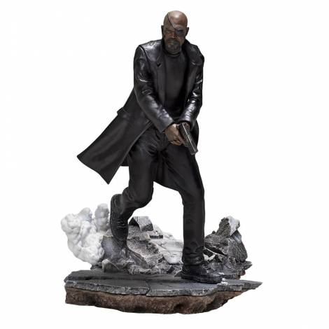 Iron Studios Spider-Man: Far From Home - Nick Fury BDS Art Scale 1/10 Statue