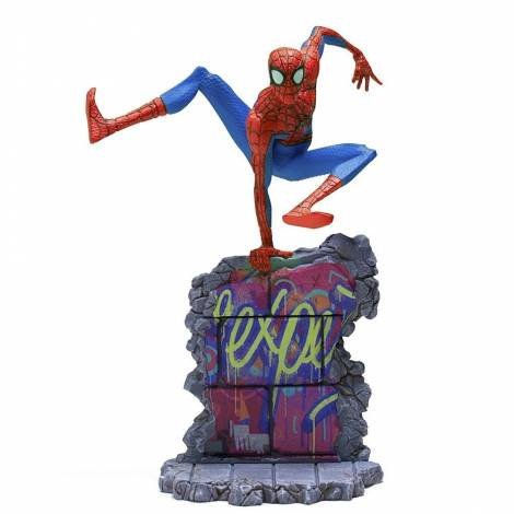Iron Studios Spider-Man: Into The Spider-Verse - Peter B. Parker BDS Art Scale 1/10 Statue