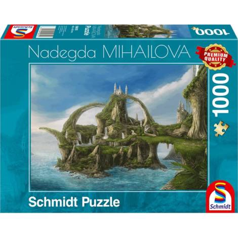 Island of the Falls 1000pcs (59610) Schmidt Spiele