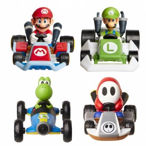 Jakks - Αυτοκίνητο Kart Super Mario Wave 5 (4 σχέδια) (JPA40303)
