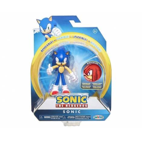 Jakks - Φιγούρες 10cm Sonic με αξεσουάρ (4 Σχέδια) (JPA40050)
