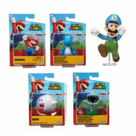 Jakks - Φιγούρες 6,5cm Super Mario Wave 27 (5 σχέδια) (JPA40456)