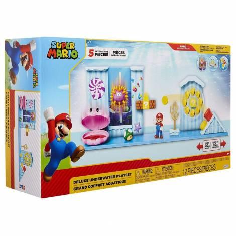Jakks Pacific Σετ Παιχνιδιού Super Mario με Φιγούρα Mario (40025)