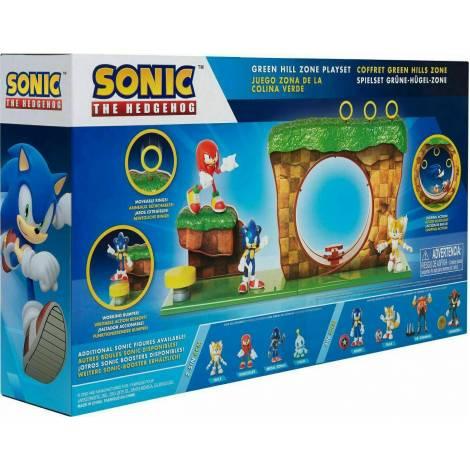Jakks Pacific Sonic the Hedgehog: Green Hill Zone Playset (40393)