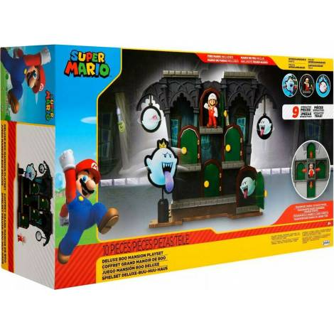 Jakks Pacific Super Mario Deluxe Boo Mansion (40428)
