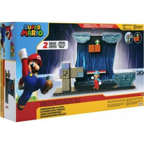 Jakks Pacific Super Mario Deluxe Underground Playset (40427)
